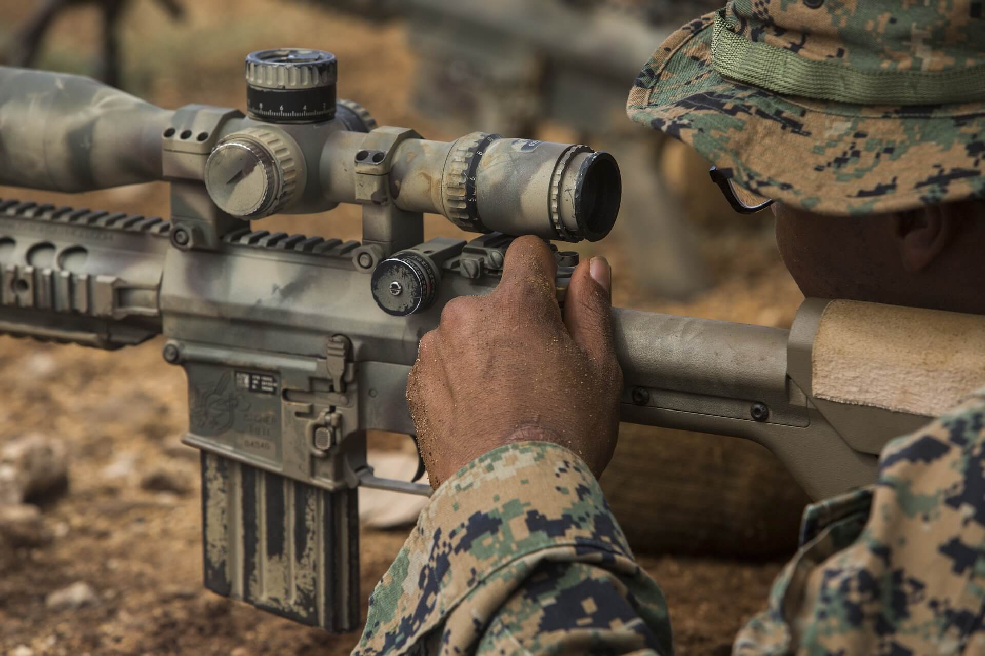 marine sniper scope