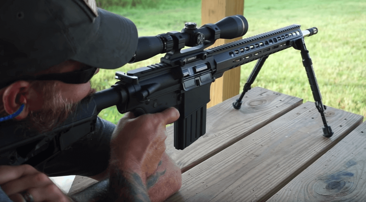 best shooting ar10 with lupold scope