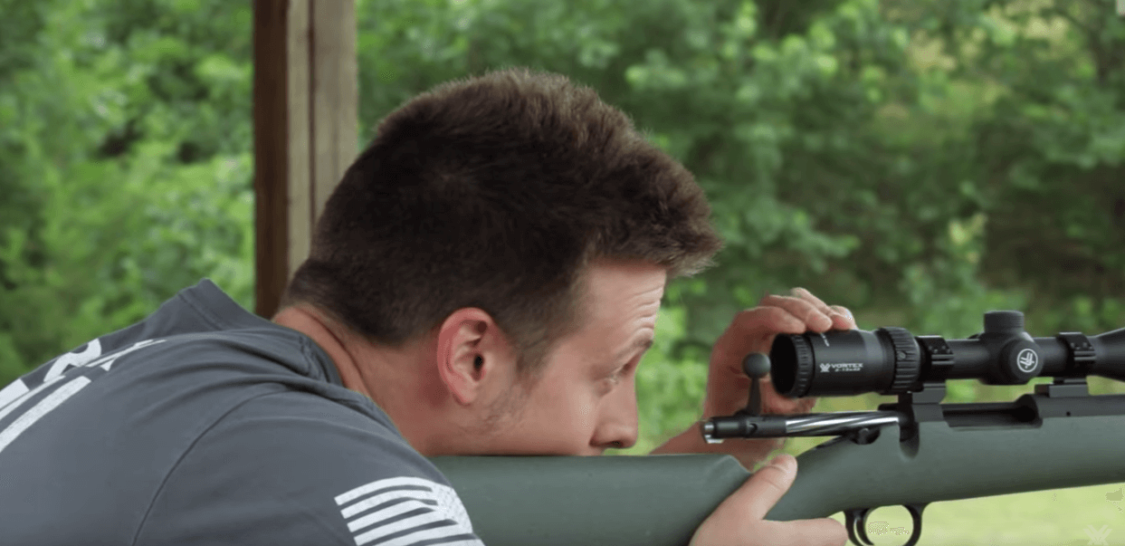 muzzleloader scope zeroing
