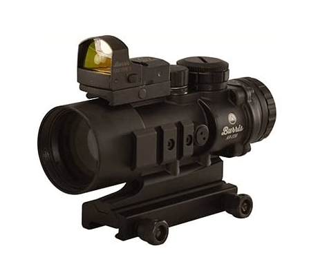 Burris 300178 AR Prism Sight Ballistic Cq Reticle with Free Fastfire III Reflex Red Dot Sight, AR-536, 5x36mm, 3 MOA with Picatinny Mount, Matte Black