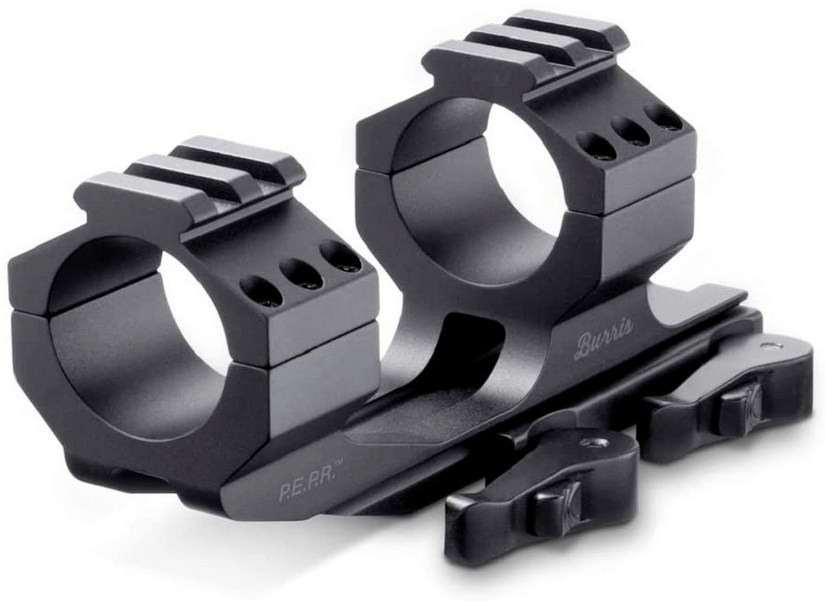 Burris Optics 410341 410342 410343 410344 P.E.P.R Riflescope Mount Ideal Mounting Solution Featuring Picatinny Ring Tops - Quick detach scope mount