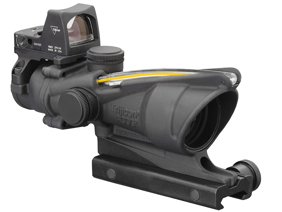 Trijicon 4x32 ACOG:RMR Combo Riflescopes