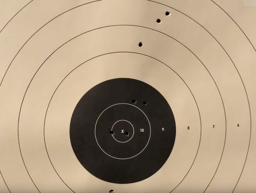 best 3-9x40 scope and target